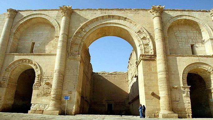 Боевики ИГИЛ сносят руины  древней ассирийской столицы