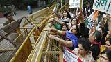 India police make arrests following last week's lynching of a rape suspect