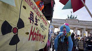 Almanya'da nükleer karşıtı gösteri