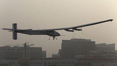 Solar plane begins epic journey