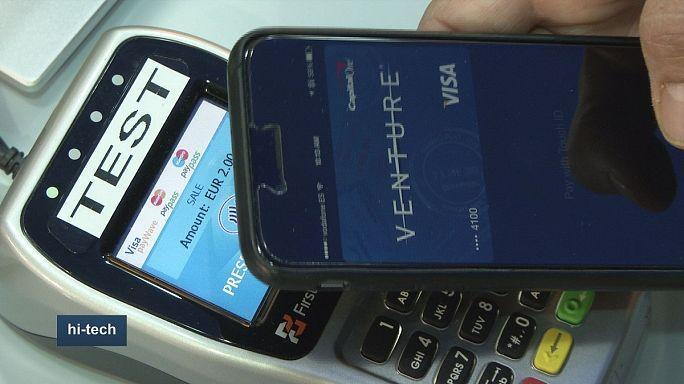 """Кредитка """"VISA"""" - теперь в телефоне!"""