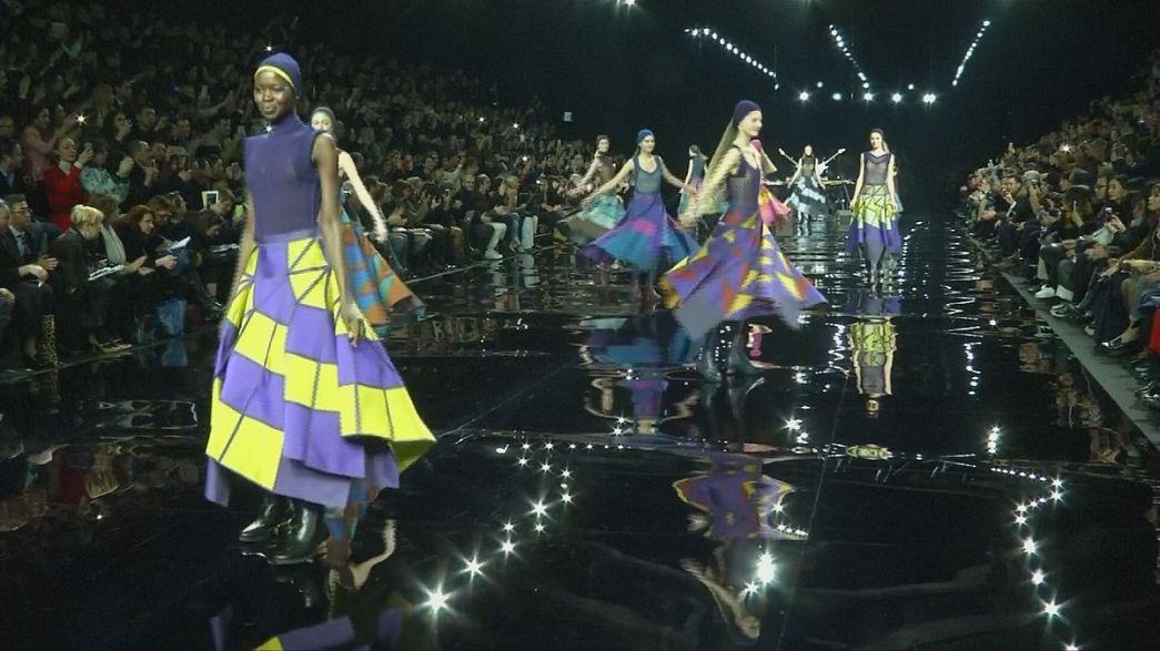 Paris fashion week showcases Dior, Miyake, Kenzo, Mugler, Arora