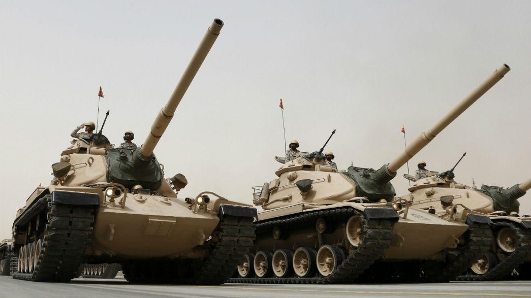 """Arábia Saudita """"derruba"""" Índia da liderança do top mundial da compra de armas"""