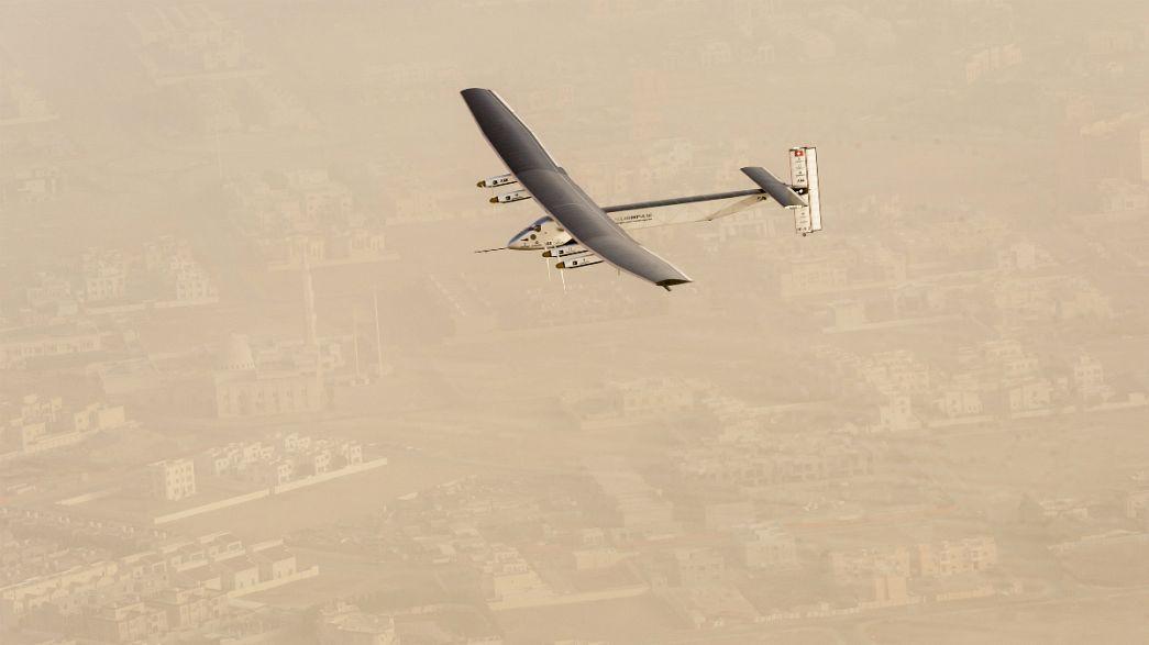Solar Impulse 2 reaching for zero emissions record