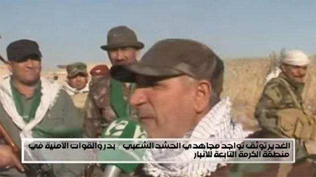 Watch: Iraqi militia chief shot during television interview