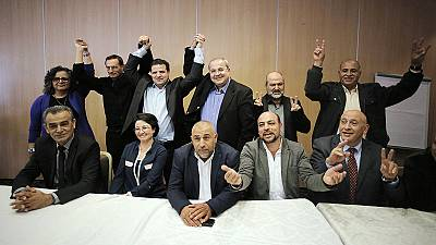 Israel's Arab citizens brandish new electoral power