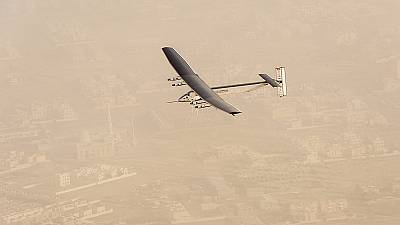 Solar plane completes maiden leg of record attempt