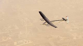 Solar Impulse takes off from Oman on second-leg of record breaking trip
