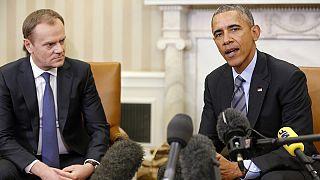 Обама и Туск: трансатлантический союз ещё никогда не был так силён