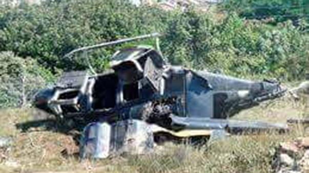 'Dropped' helicopter crash: what we know