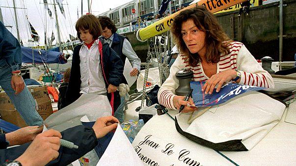 La navigatrice française Florence Arthaud prend le large pour toujours
