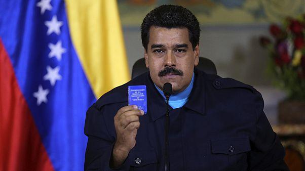 مادورو يدين بشدة العقوبات الأميركية على فنزويلا