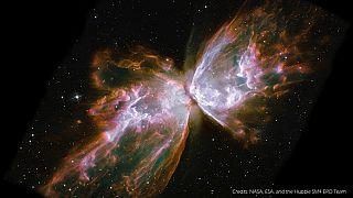 Hubble: 25 años con imágenes cada vez más sorprendentes