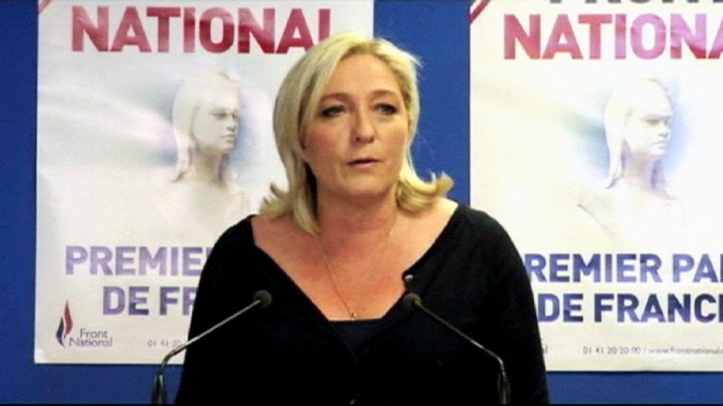 Eurodeputados da Frente Nacional visados em alegada fraude