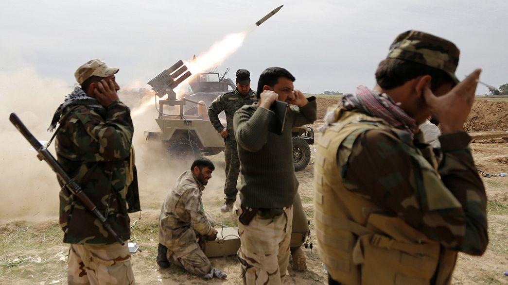 Irak ordusu adım adım Tikrit'e ilerliyor