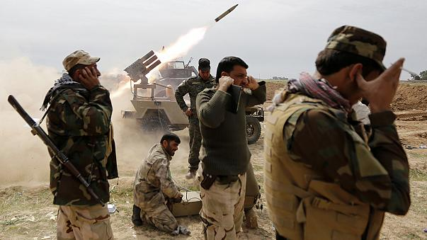 The route to Mosul: Iraqi forces close in on Tikrit