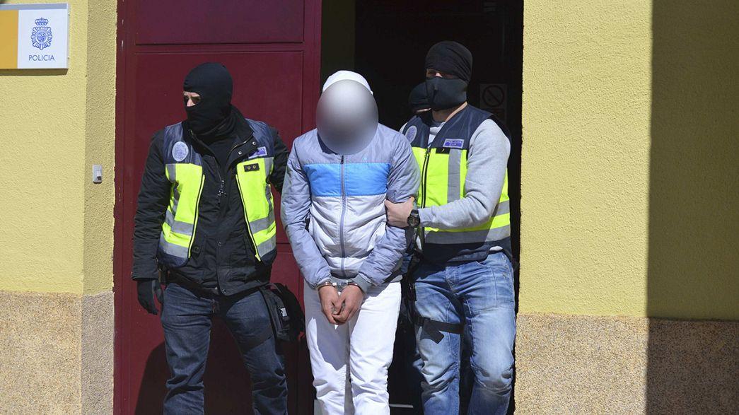 Desarticulada en España una célula yihadista preparada para atentar