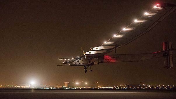 Solar Impulse 2 s'est posé en Inde