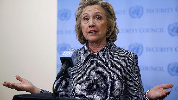 Clinton'dan özel e-posta açıklaması
