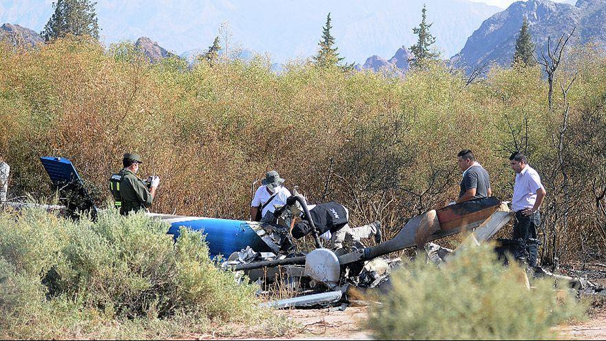 Fransız 'Survivor' ekibini taşıyan helikopterlerin çarpışma anı