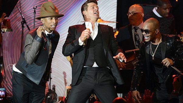 Pharrel Williams y Robin Thicke plagiaron a Marvin Gaye, según la justica estadounidense