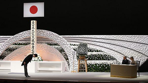 برگزاری مراسم چهارمین سالگرد زلزله و سونامی در ژاپن