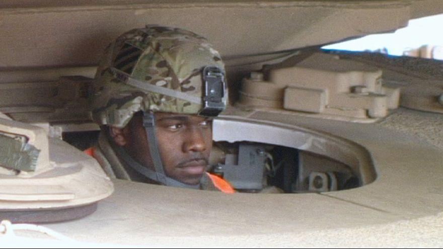 قوات أمريكية في ريغا للمشاركة في مناورات عسكرية تهدف لطمأنة دول البلطيق في مواجهة روسيا