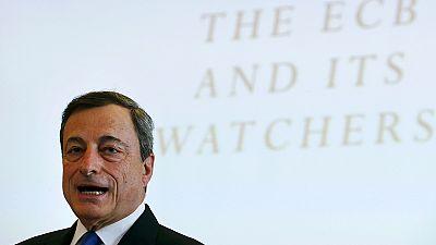 """Draghi sees ECB stimulus measures """"gaining momentum"""""""