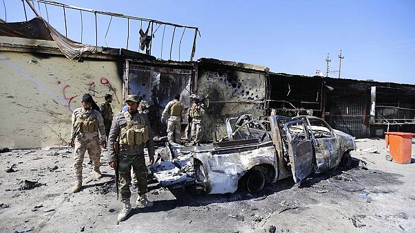 القوات العراقية تدخل شمالي تكريت