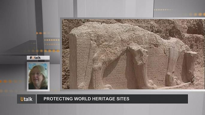 How do we protect irreplaceable world heritage treasures?