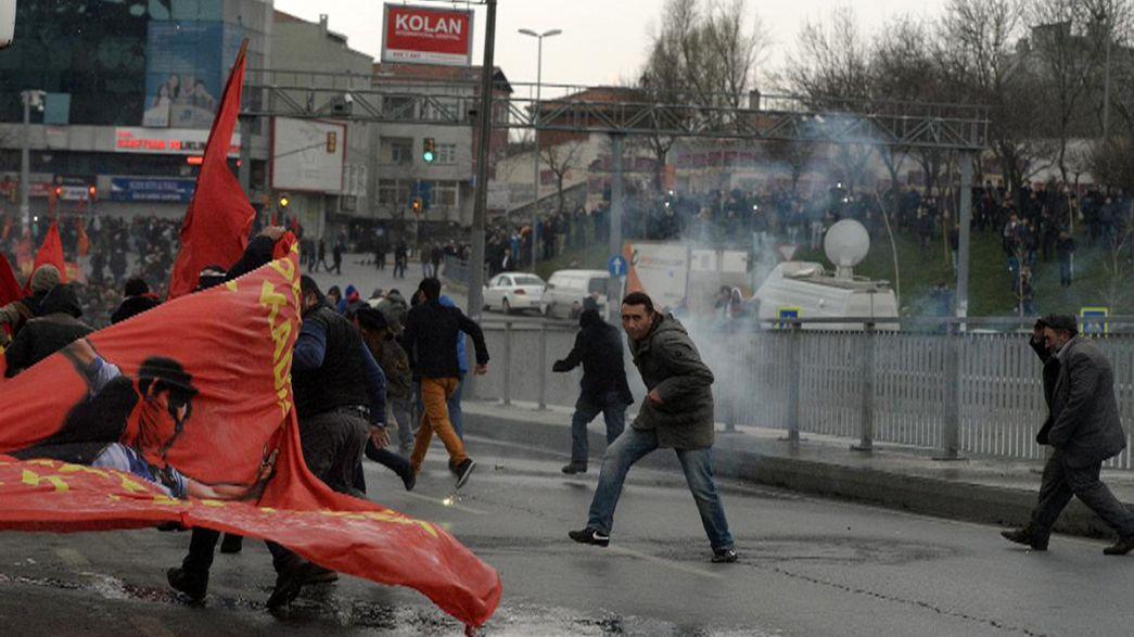 مظاهرات في تركيا ضد عنف الشرطة