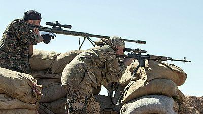 Kurden im Kampf gegen IS-Dschihaidsten