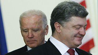 Drohnen und Humvees? USA versprechen der Ukraine weitere Hilfe