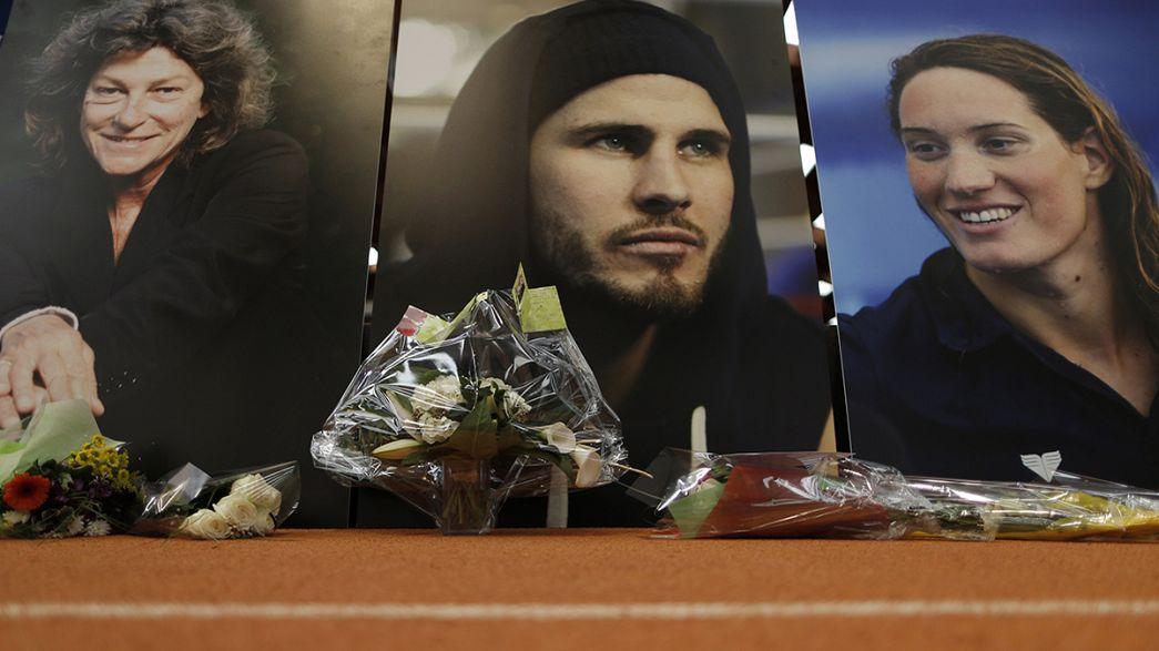 França homenageia desportistas falecidos na Argentina