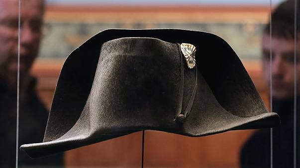 Back to the battlefield for Napoleon's hat