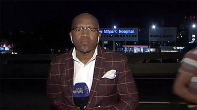 Sudafrica, giornalista rapinato mentre va in onda