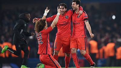 PSG knock Chelsea out of the Champions League Bayern advance