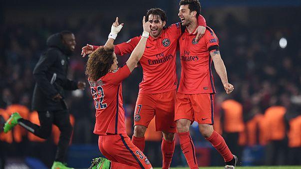 Championsleague: Paris kämpft sich zum Sieg, Bayern überlegen.
