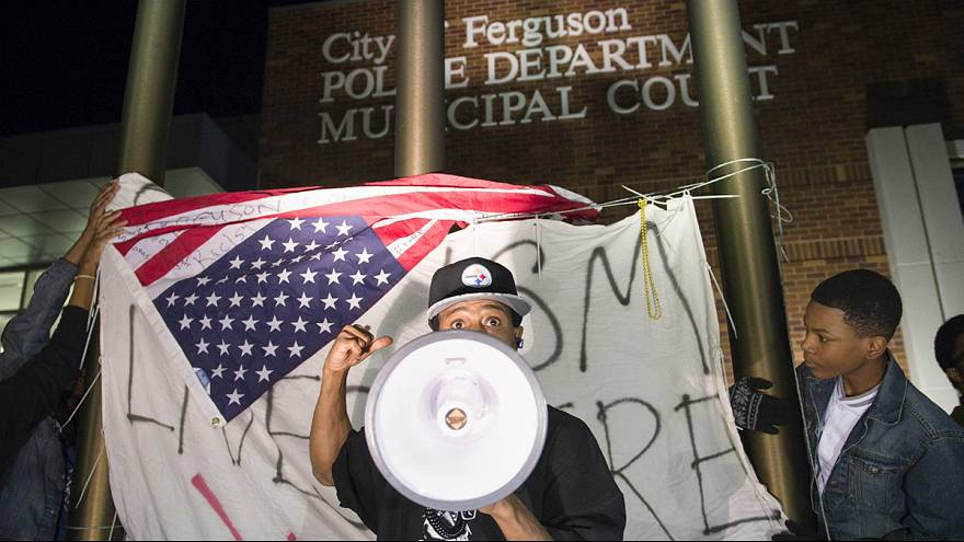 Ferguson shootings: Debate on race relations reignites in US
