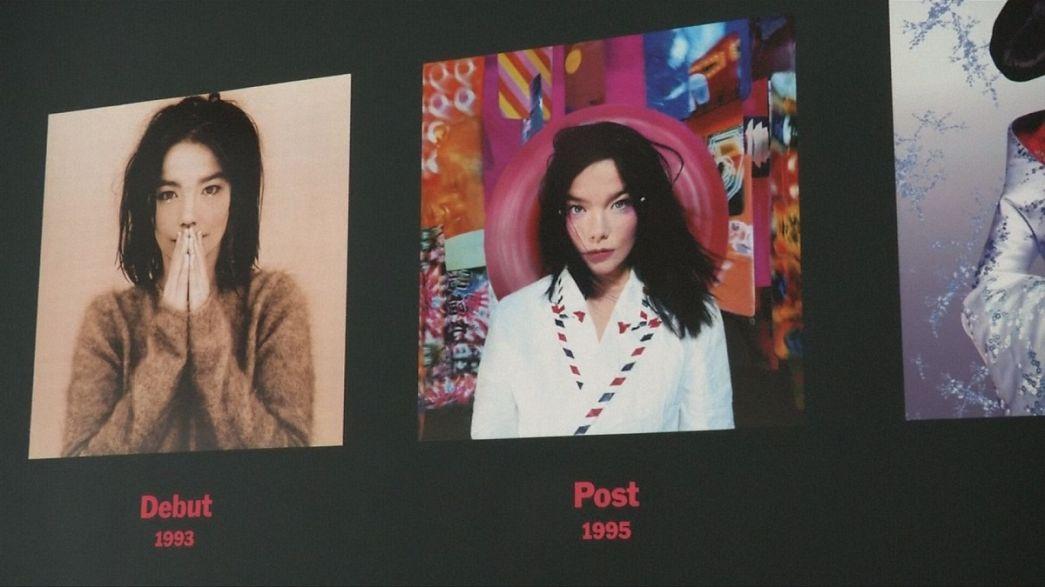Multimédiás Björk-promenád New Yorkban