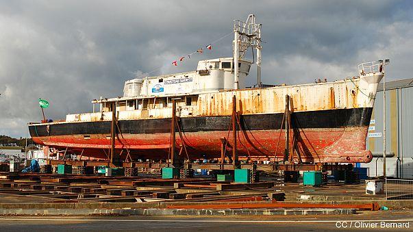 France : la Calypso de Cousteau menacée d'être vendue aux enchères