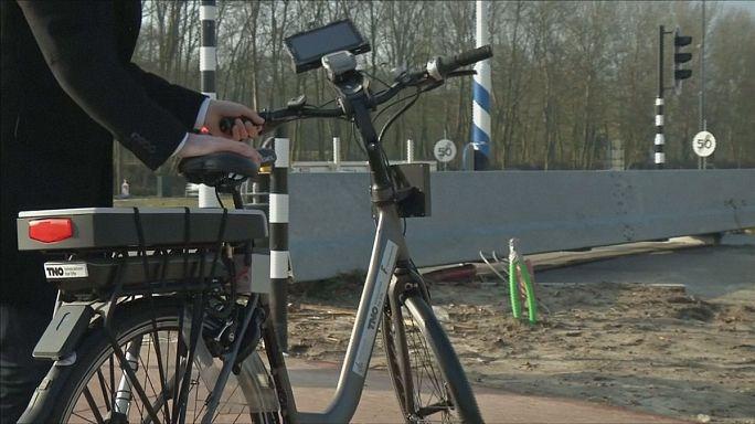 Hollanda'da titreşimli bisikletler yola çıkacak