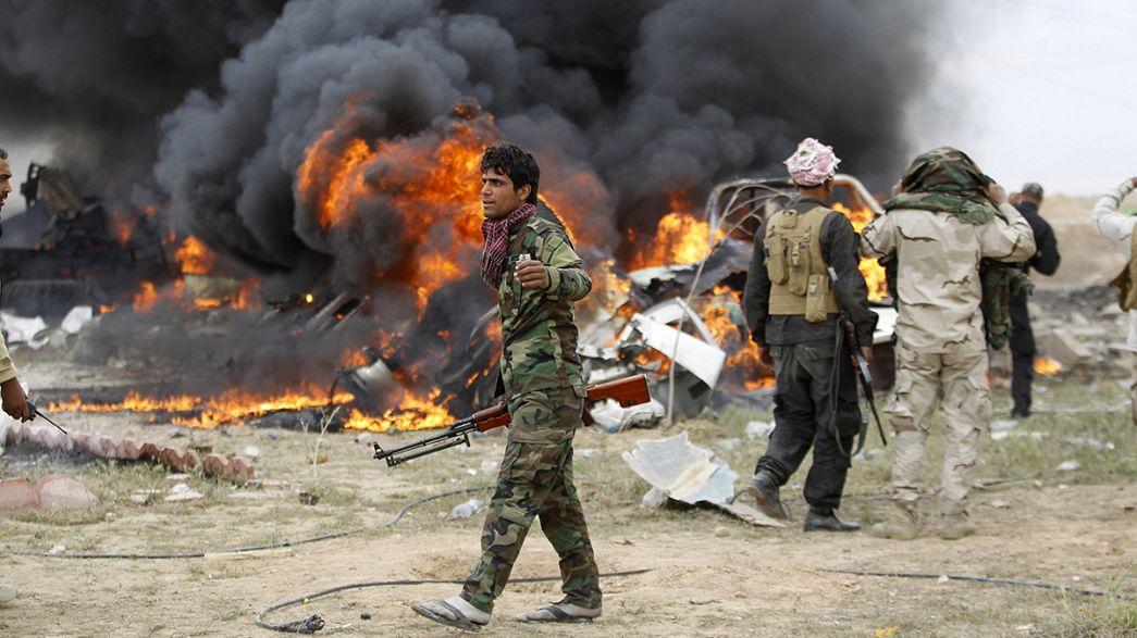 """Irak : """"Tikrit est bouclé de tous les côtés"""""""