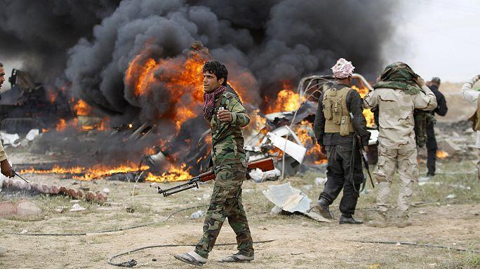 """Tikrit'in ele geçirilmesi sonrası """"mezhepsel intikam"""" korkusu"""