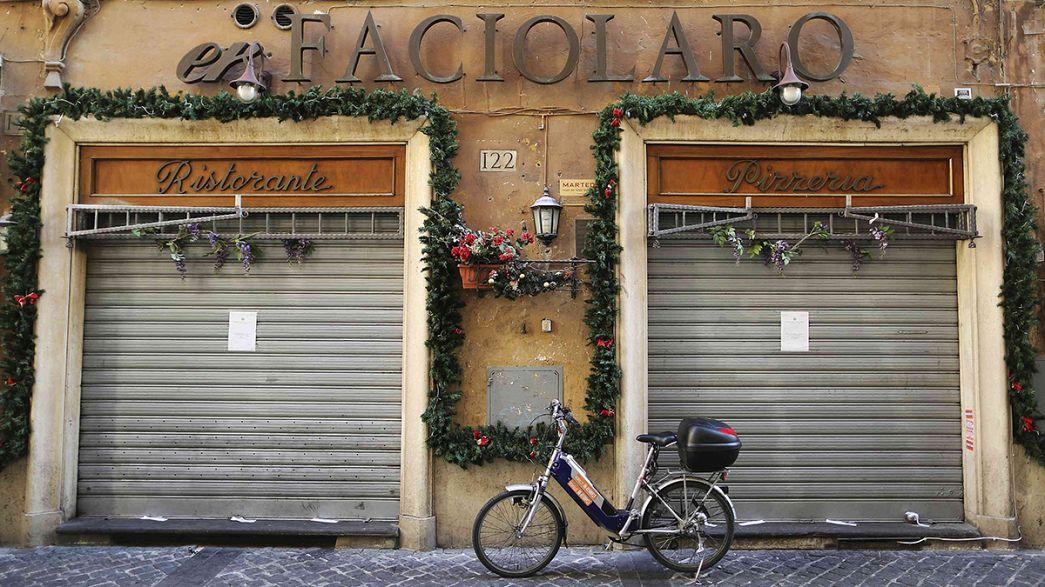 La policía italiana confisca dos restaurantes en el centro de Roma en una operación antimafia