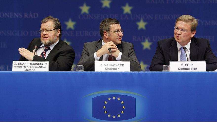 Iceland drops EU membership bid