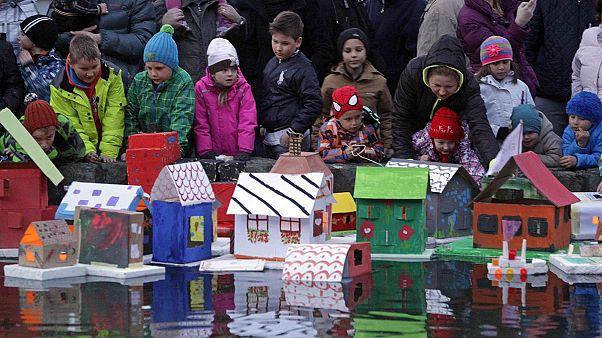 Σλοβενία: Παραδοσιακή υποδοχή της άνοιξης