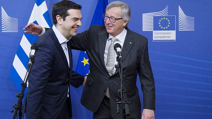 """""""Progrès insuffisants"""" à Bruxelles sur la Grèce"""