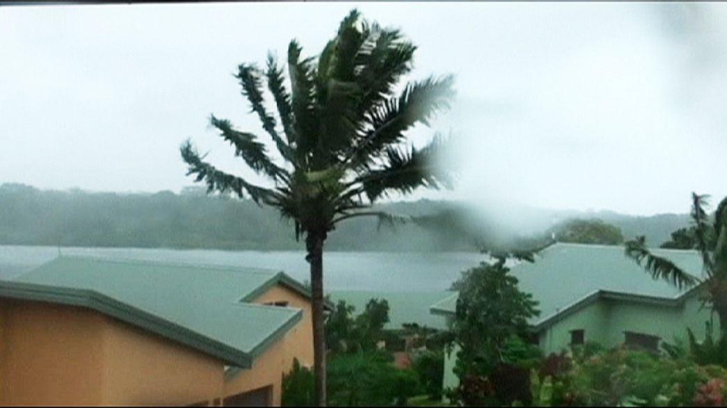 Les îles Vanuatu menacées par le cyclone Pam