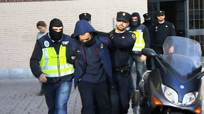 Spain anti-terrorist police arrest 8 suspected jihadists